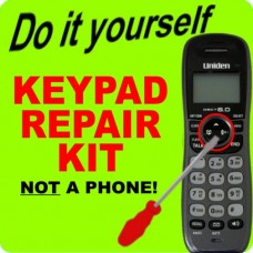 Uniden DECT1480 Keypad Button Repair