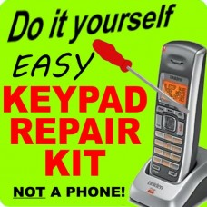 Uniden DECT DCX200 Keypad Button Repair