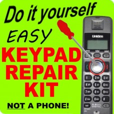Uniden TRU12803 Keypad Button Repair