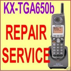 Repair Service KX-TGA650b