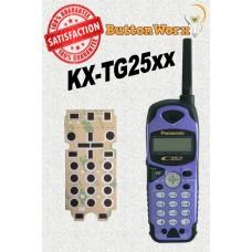 Panasonic KX-TG2593B Keypad Repair Kit by ButtonWorx