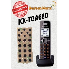 Keypad Button Repair Kit Panasonic KX-TGA680