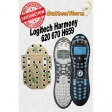 Logitech Harmony 620 H659 670 Button Repair