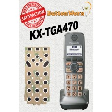 Panasonic KX-TGA470 Keypad Button Repair