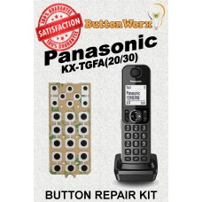 Panasonic Keypad Button Repair Kit for KX-TGFA20 KX-TGFA30