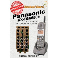 Panasonic KX-TGA650b Keypad Button Repair