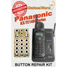 Panasonic KX-TC1484B 900Mhz Keypad Button Repair - Fit's TC1480 series