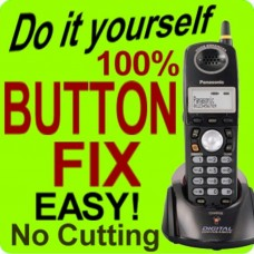 Panasonic KX-TGA243W Keypad Button Repair