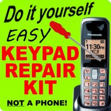 Panasonic KX-TGA642S Keypad Button Repair