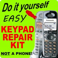 Panasonic KX-TGA43X 63X 73X 93X Keypad Button Repair