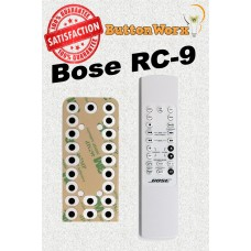 BOSE RC9 RC9A ButtonWorx Keypad Repair Kit