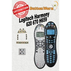 Logitech Harmony 620 H659 670 Button Repair
