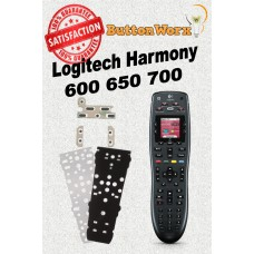 Logitech Harmony 600,650,665,700 ButtonWorx Individual Button Repair