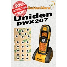Uniden DWX207 Keypad Button Repair for ALL BUTTONS