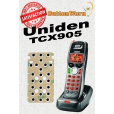 Uniden TCX905 Keypad Button Repair for ALL BUTTONS