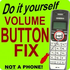 Uniden TRU9585 Keypad Button Repair