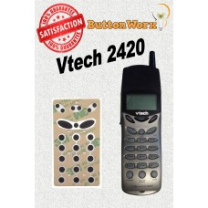 Vtech 20-2420 Keypad Repair Kit by ButtonWorx