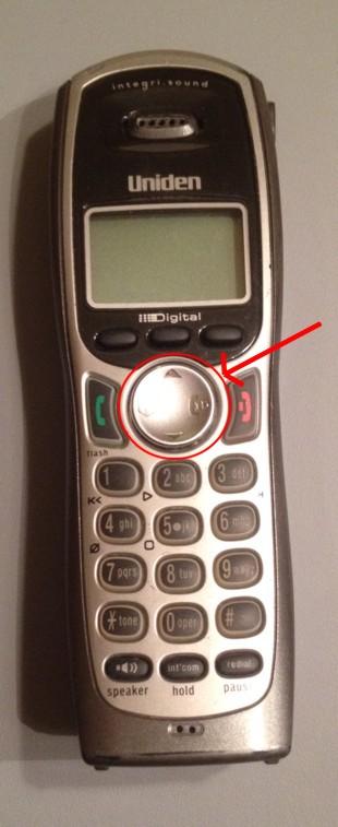 Uniden TRU9480 Cordless Phone